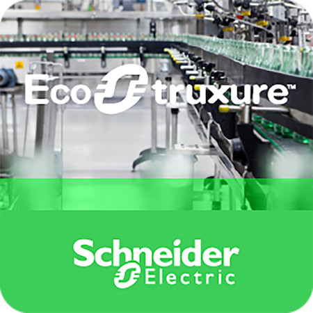 Schneider Electric HMIVXL3PRT64KLV80 EcoStruxure Machine SCADA Expert for 3rd Party PC (Runtime License), 64000 Tags